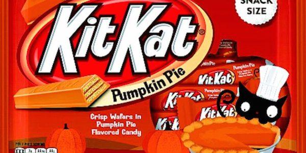 Kit Kat flavours: pumpkin pie Kit Kat bar
