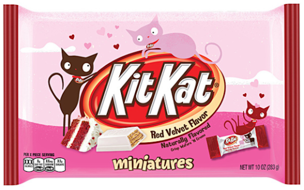 Kit Kat flavours: red velvet Kit Kat bar