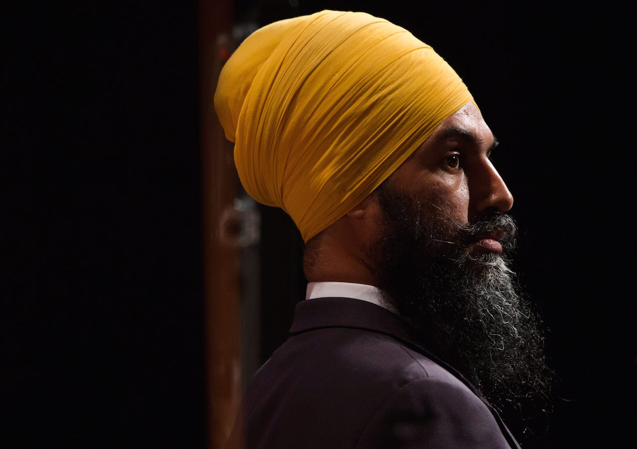 Jagmeet Singh Countered Racist Heckling With 'Love And Courage,' But Why Should He Have To?