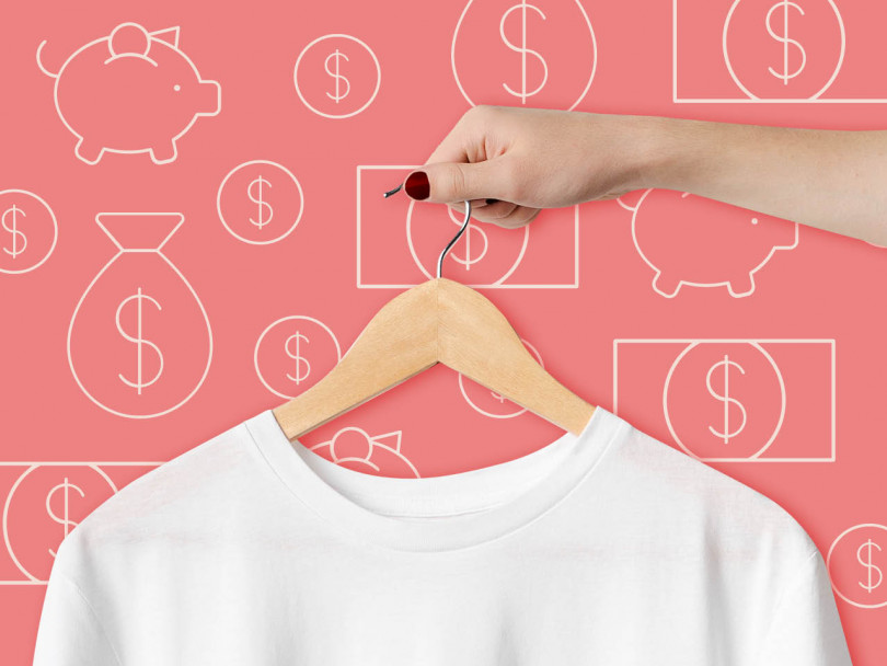 how much should you spend on clothes?