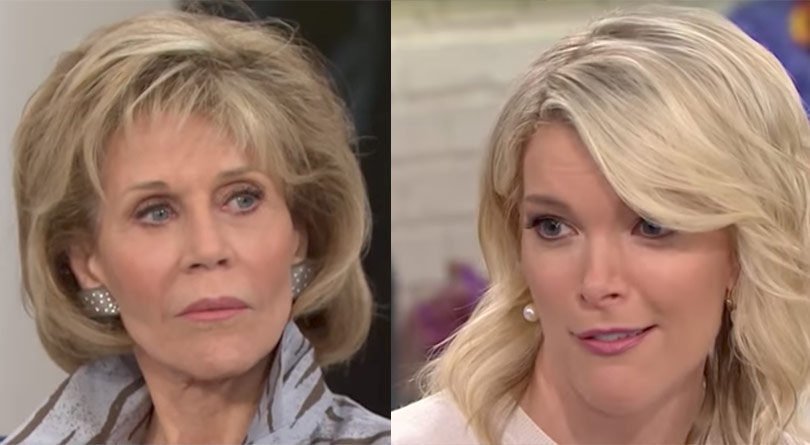 Jane Fonda Megyn Kelly Today plastic surgery