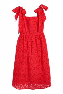 Dress with broderie anglaise, H&M, $50 (from $100)