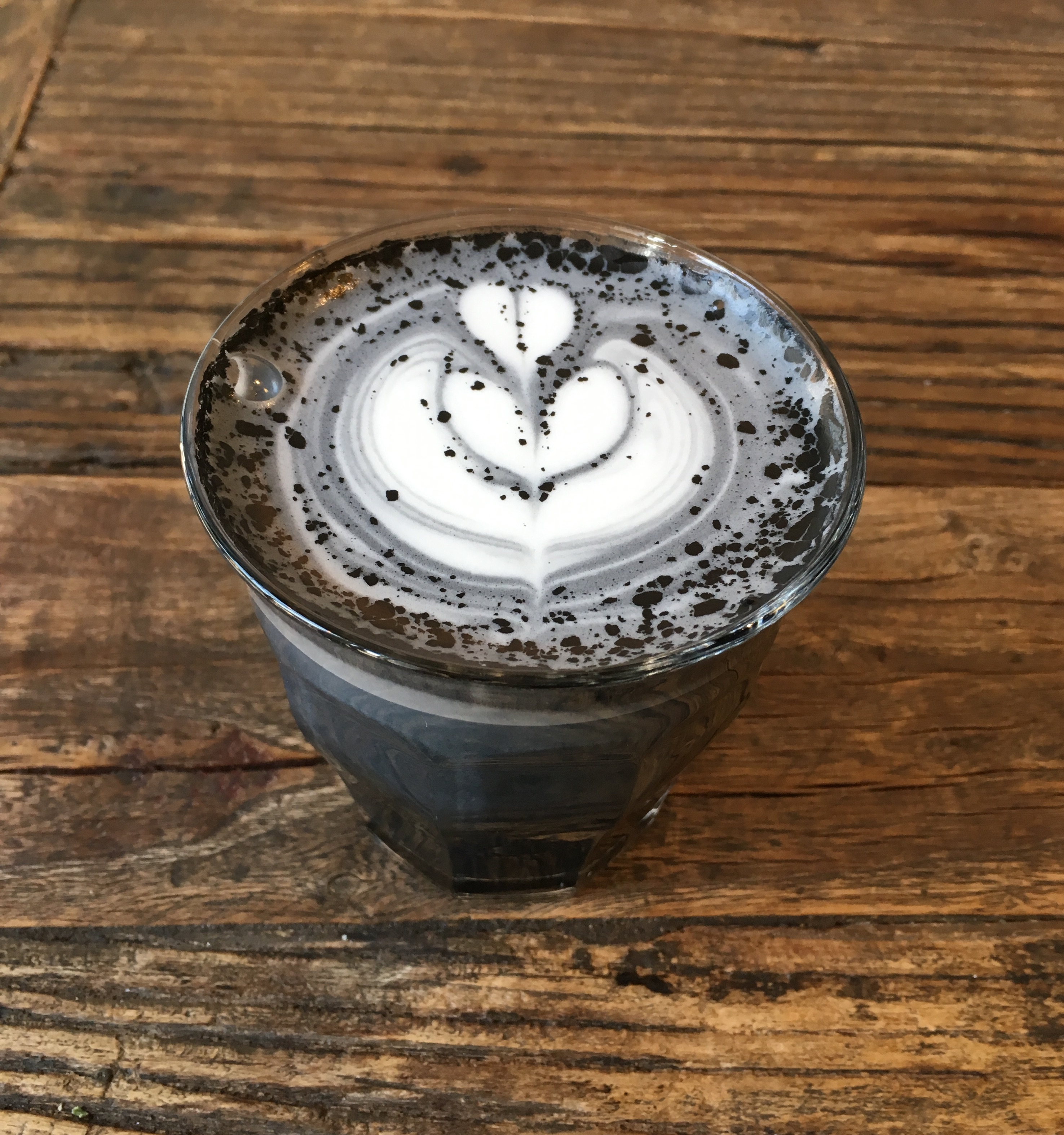 We Tried It: Activated Charcoal Goth Latte