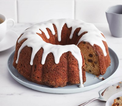 rum raisin bundt cake