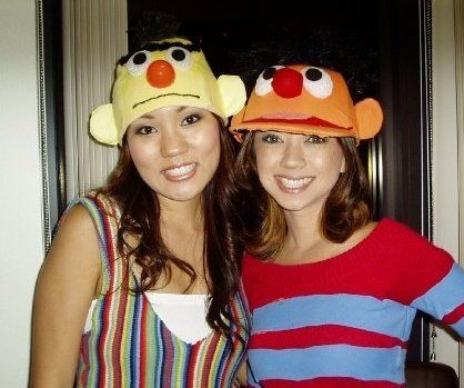 Bert and Ernie Sesame Street Halloween costume