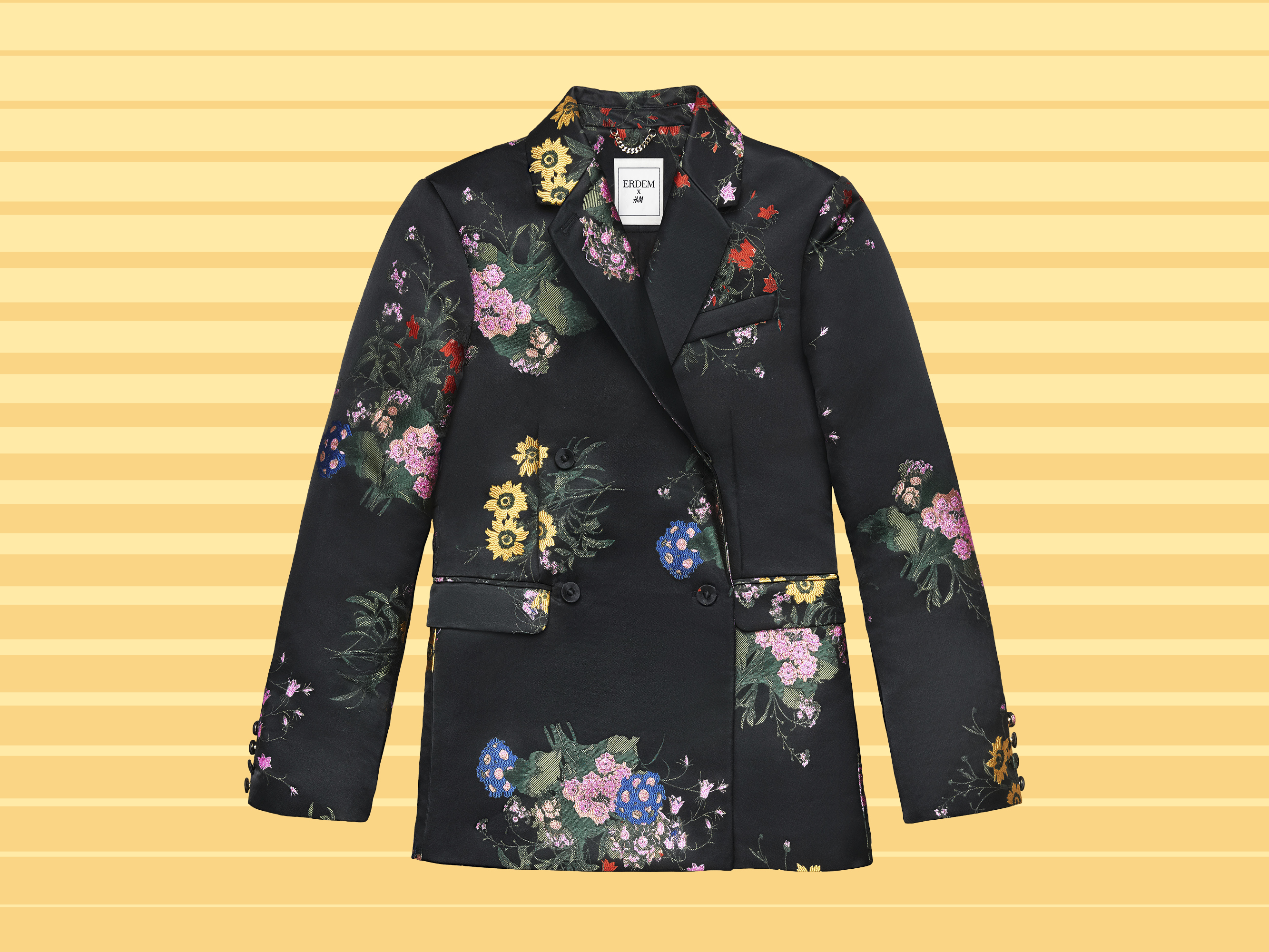 A floral blazer from the Erdem x H&M Collaboration
