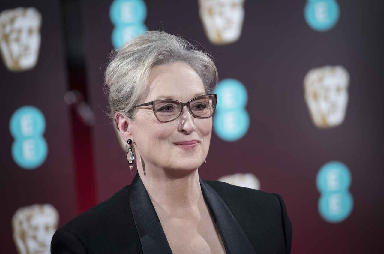 LONDON, ENGLAND - FEBRUARY 12: Meryl Streep attends the 70th EE British Academy Film Awards (BAFTA) at Royal Albert Hall on February 12, 2017 in London, England. (Photo by John Phillips/Getty Images)