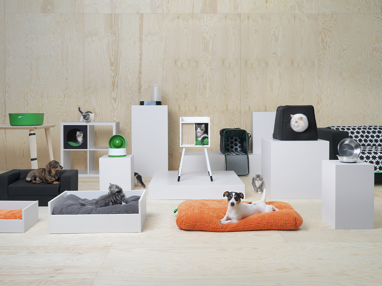 Ikea lurvig pet collection