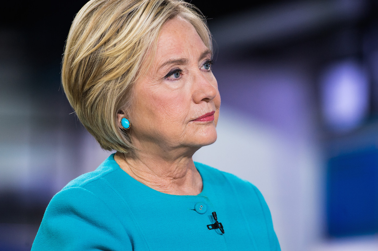 TODAY -- Pictured: Hillary Clinton on Tuesday, September 13, 2017 -- (Photo by: Nathan Congleton/NBC/NBCU Photo Bank via Getty Images)