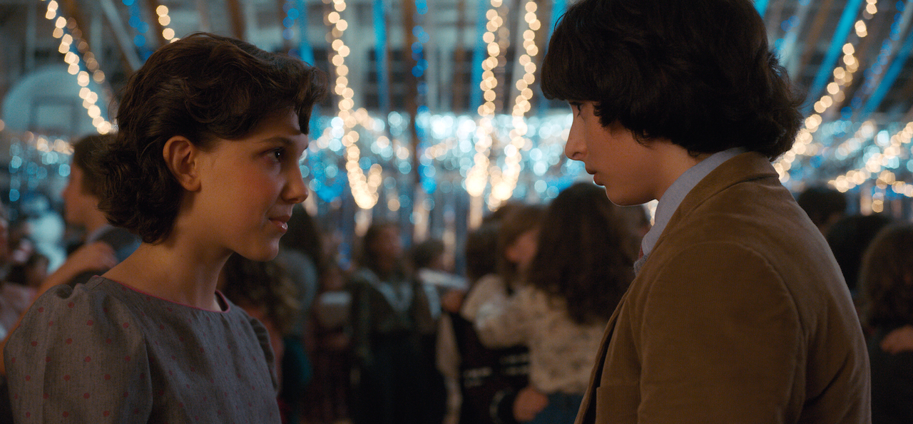 Creepiest thing about stranger things - main characters Elle and Mike from Stranger Things