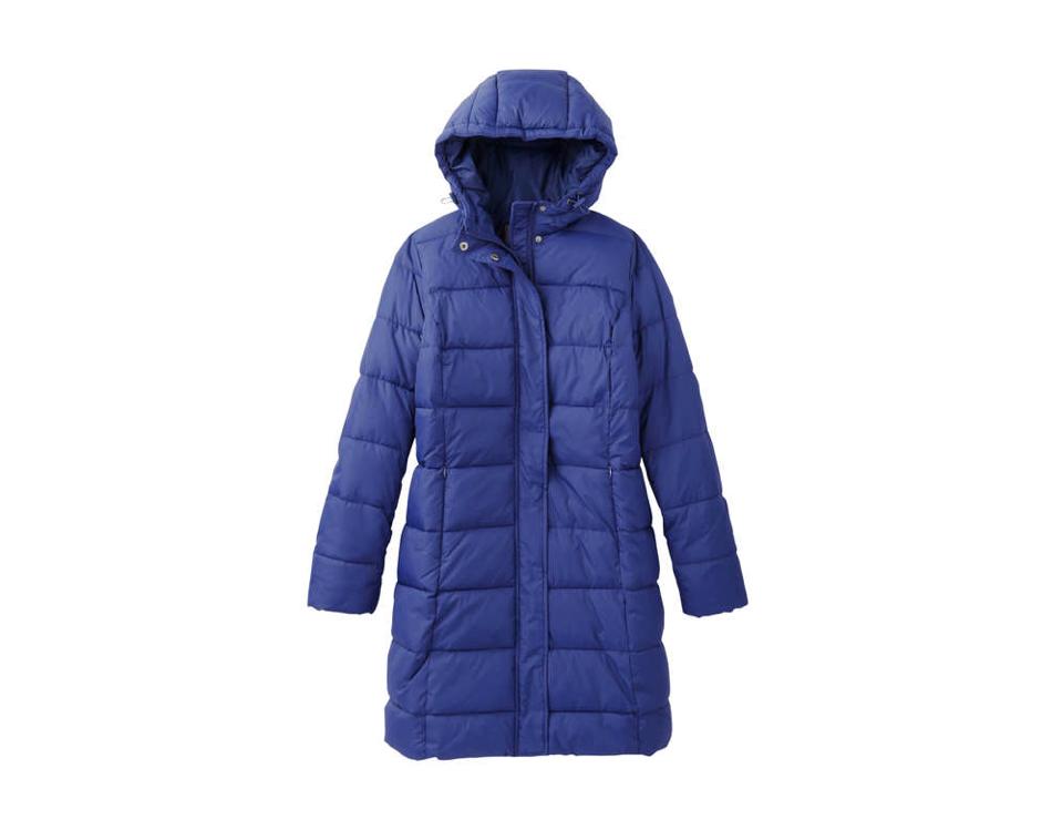 Royal Blue Joe Fresh Puffer Winter Coat
