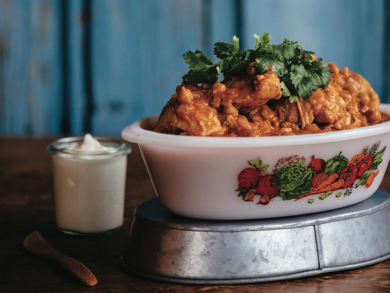 Mild chicken and chickpea curry - The Simple Bites Kitchen - Aimee Bourque
