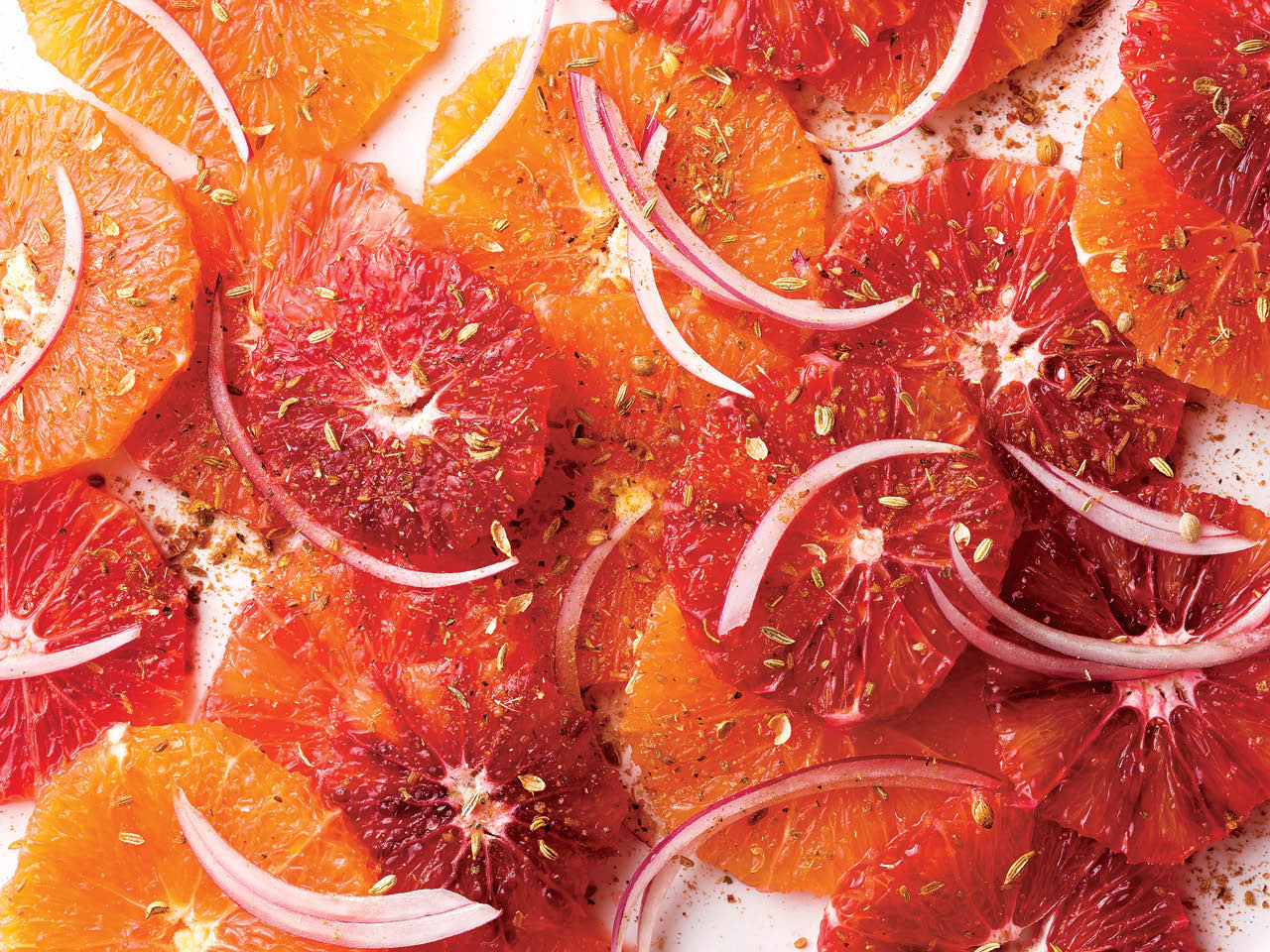 Orange chaat masala