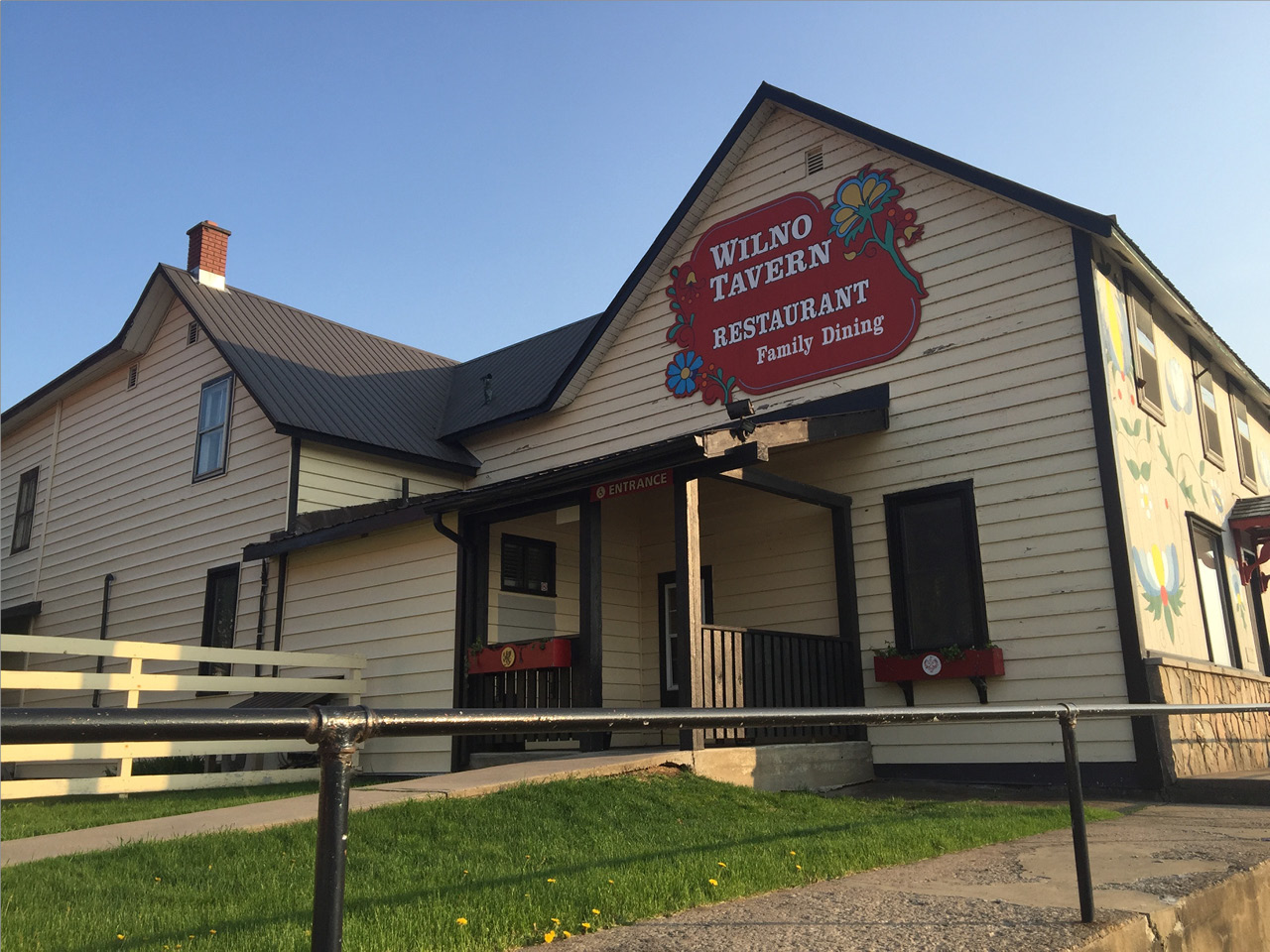 The WIlno Tavern is a well-known local gathering spot.