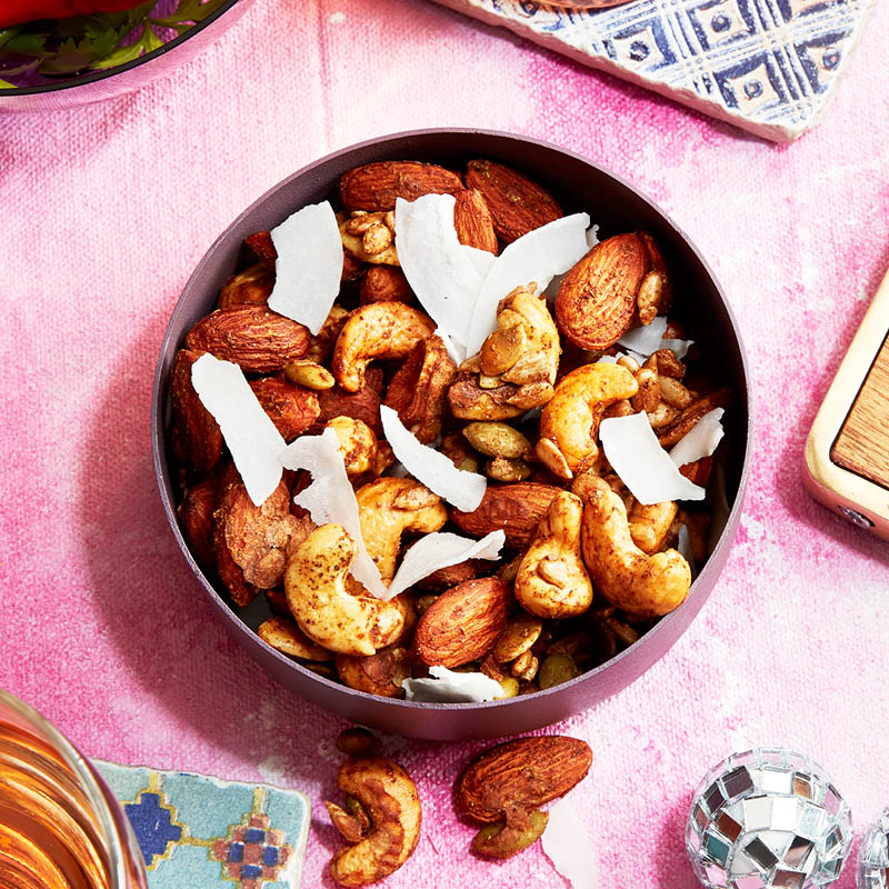 Five-spice mixed nuts