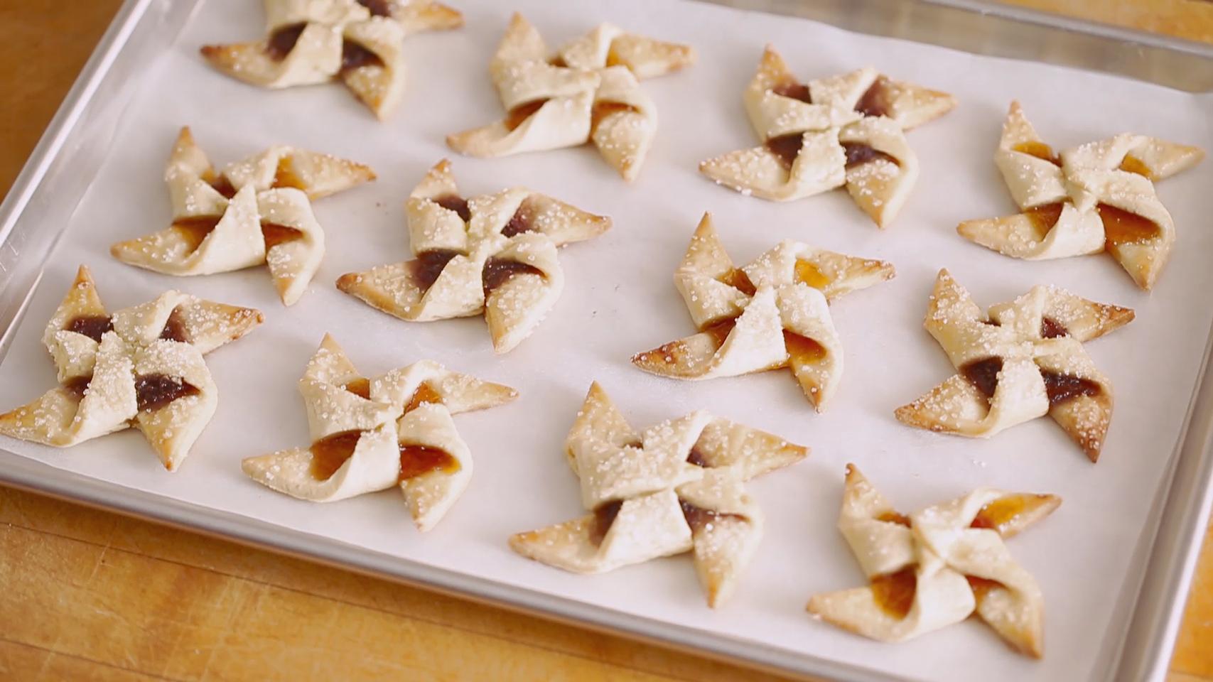 jam pinwheel cookies - perfect christmas cookies