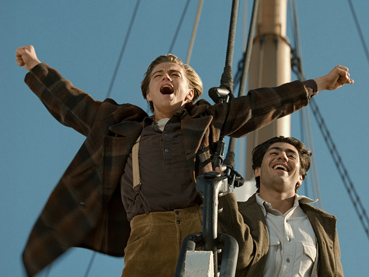 Titanic hits theatres (again!) in December. Photo, Paramount Pictures.