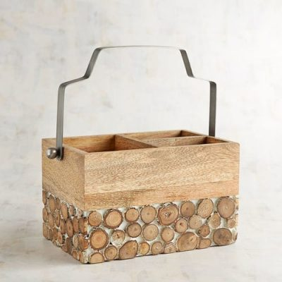 Wood Utensil Caddy, Pier 1 Imports, $27 (from $35)