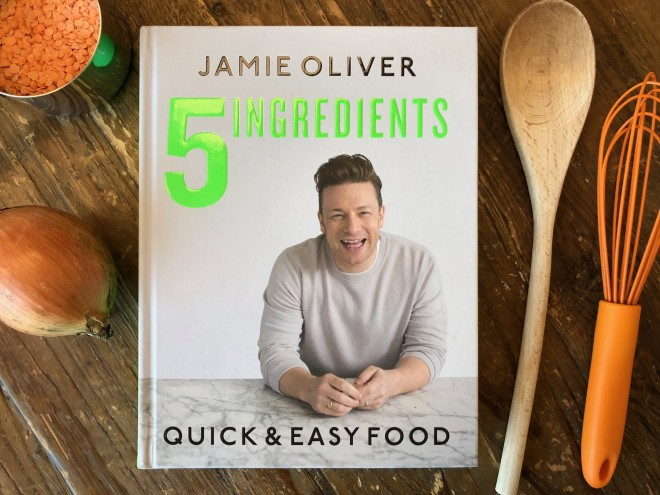 Jamie Oliver's New 5 Ingredients Cookbook Will End Weeknight Dinner Stress