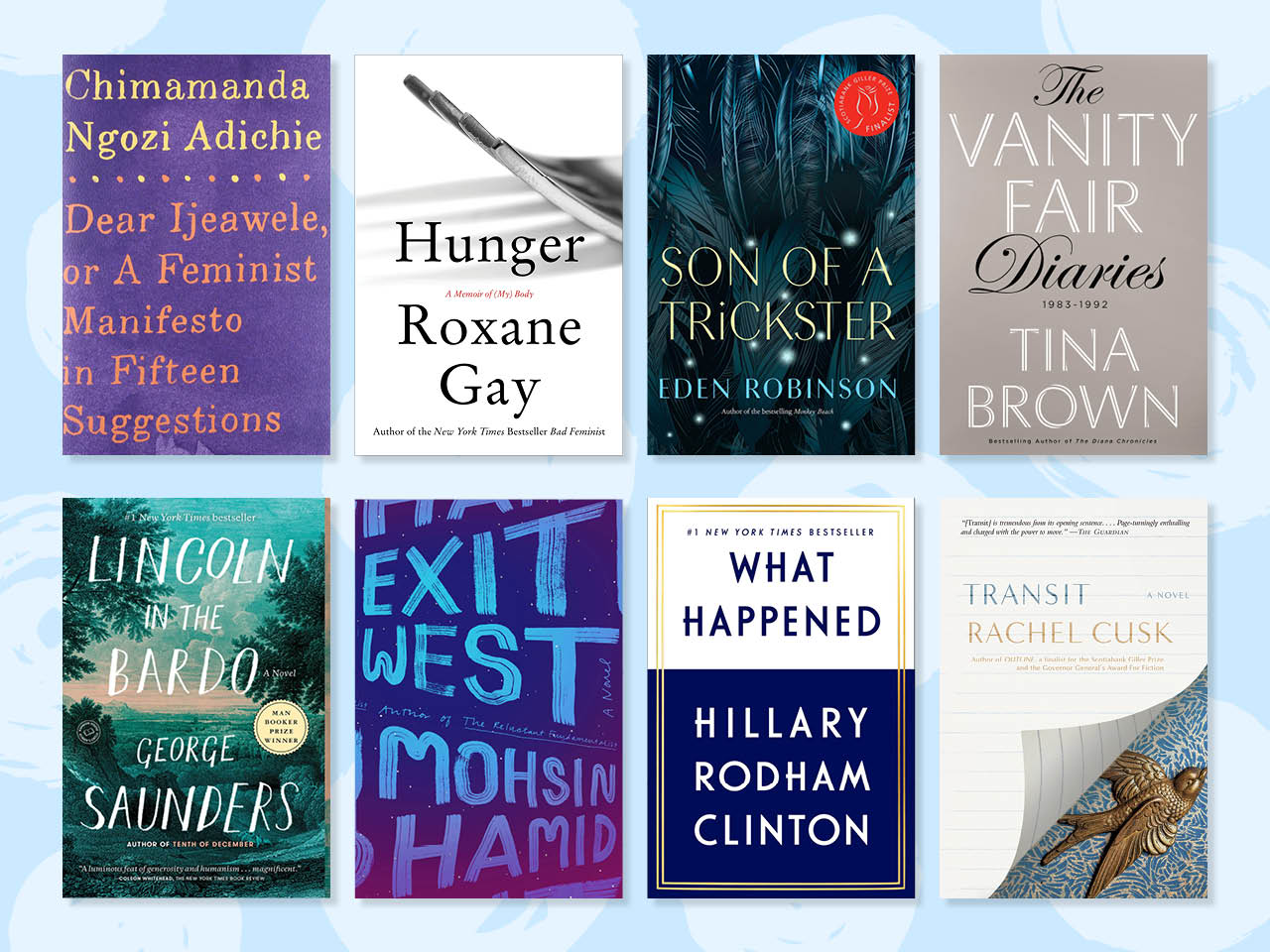 Bookworms Unite! The 20 Best Books of 2017