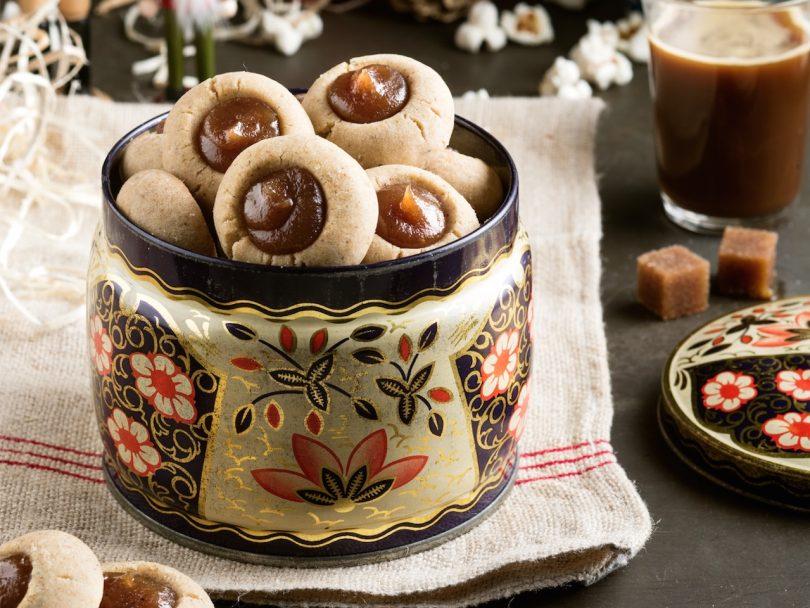 How to store cookies: Chestnut meltaway cookies