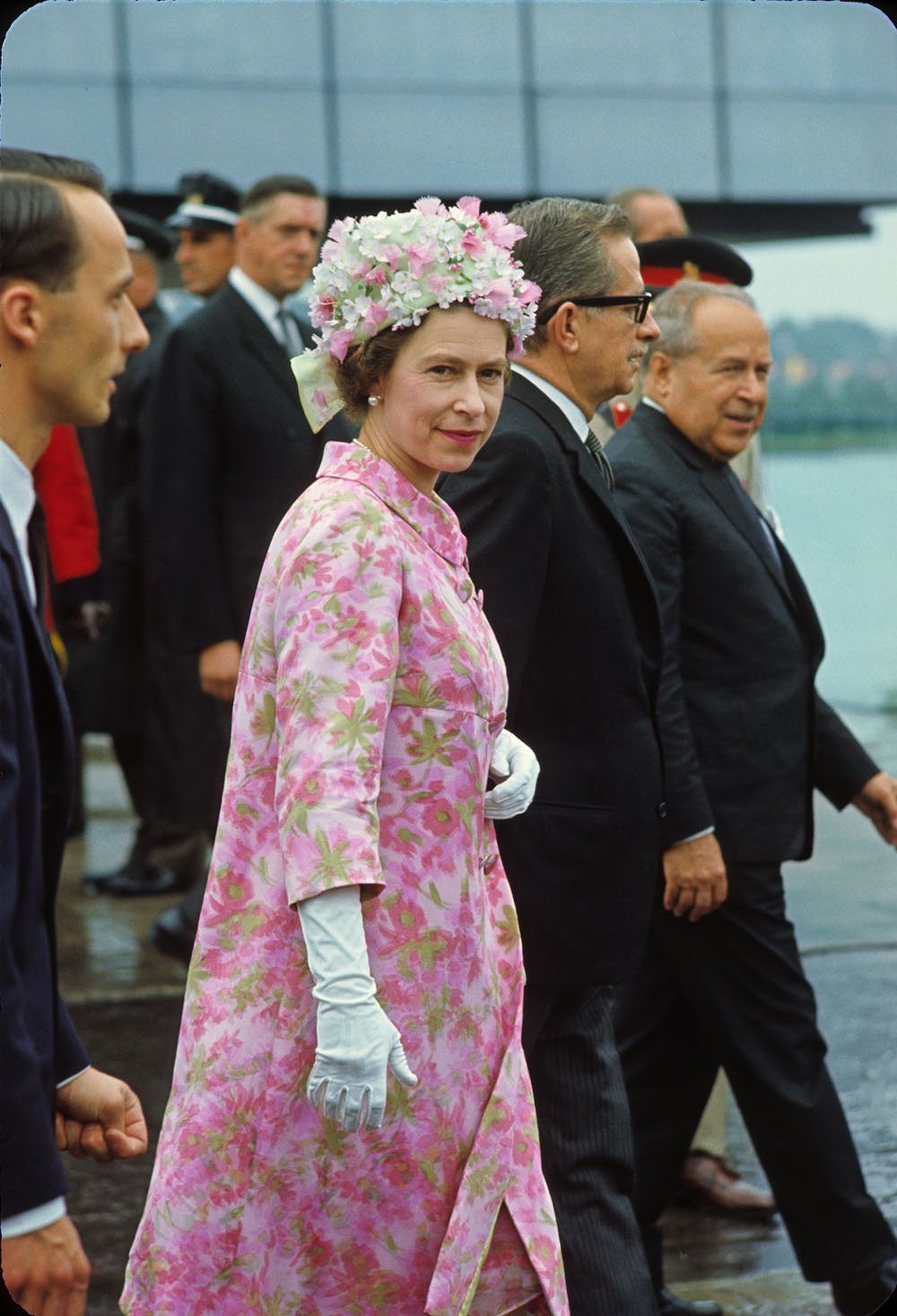 Queen Elizabeth II visits Expo 67 in July, 1967. (Library and Archives Canada / Canadian Corporation for the 1967 World Exhibition)
