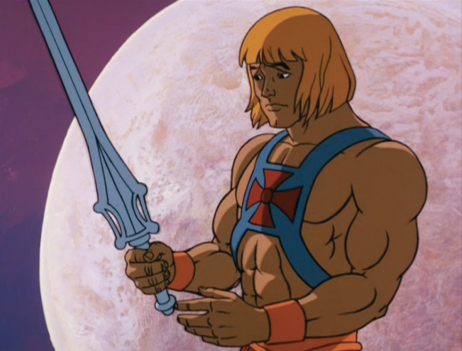 He Man hairstyle