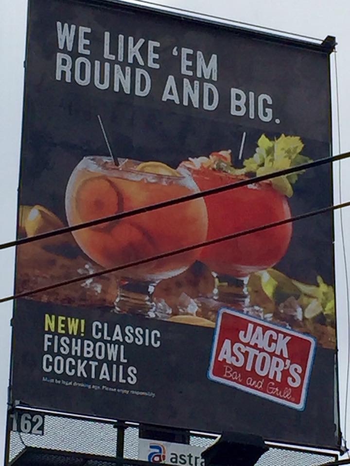 Jack Astor's Releases Yet Another Sexist Ad Campaign