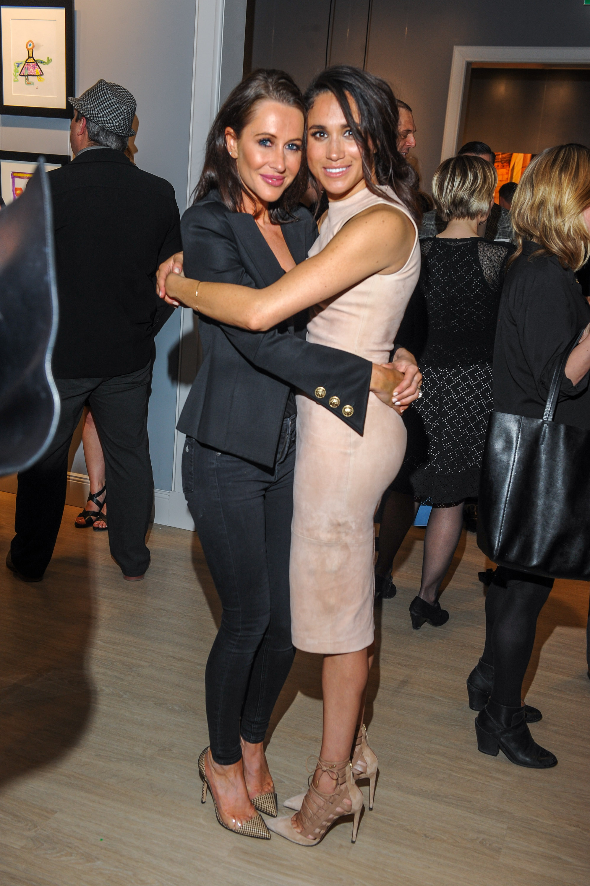 Meghan Markle with Jessica Mulroney