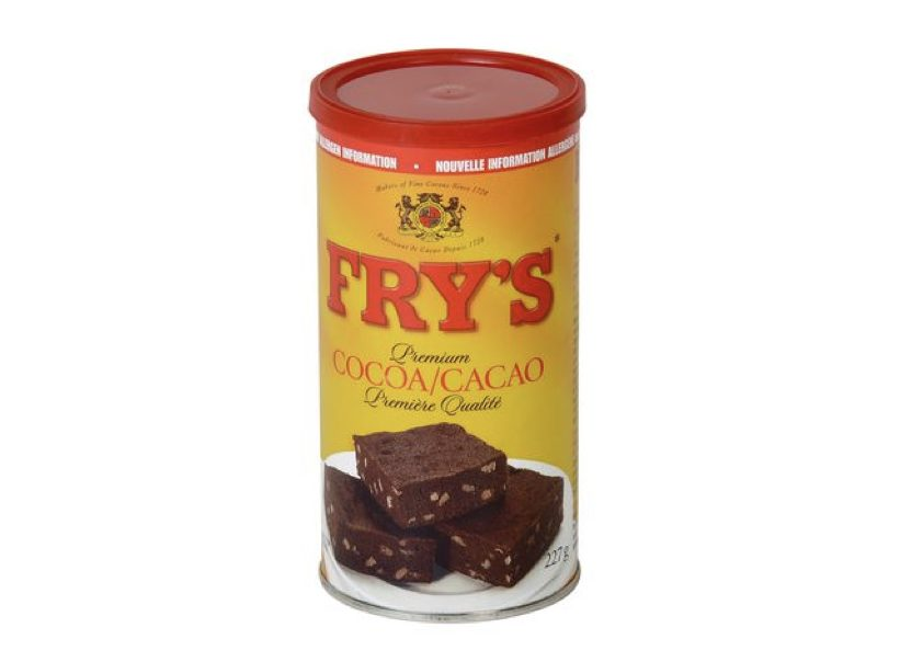 Best Cocoa Powder for baking: Fry's Cocoa