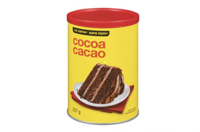 Best cocoa powder for baking: No Name Cocoa