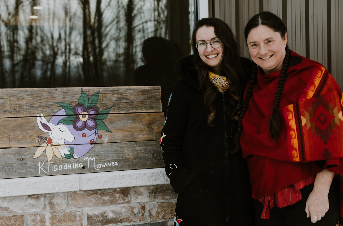Midwives Rachel Dennis and Carol Couchie are bringing birth back to Indigenous communities