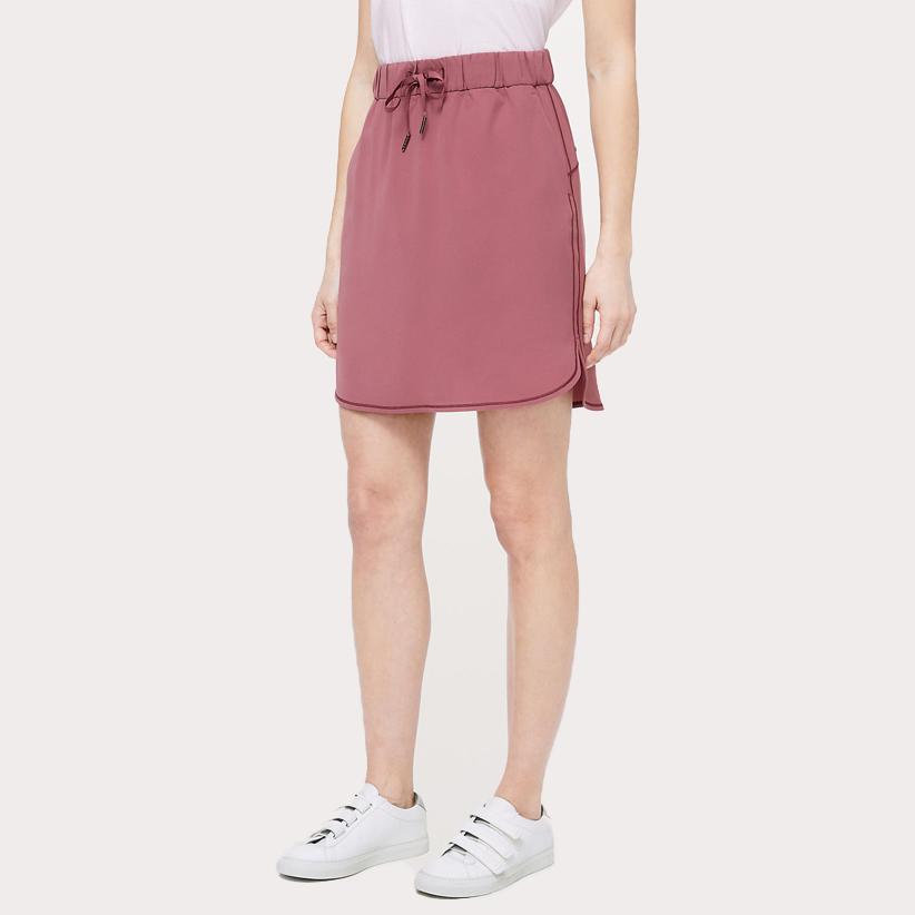 Dusty pink utility skirt from lululemon