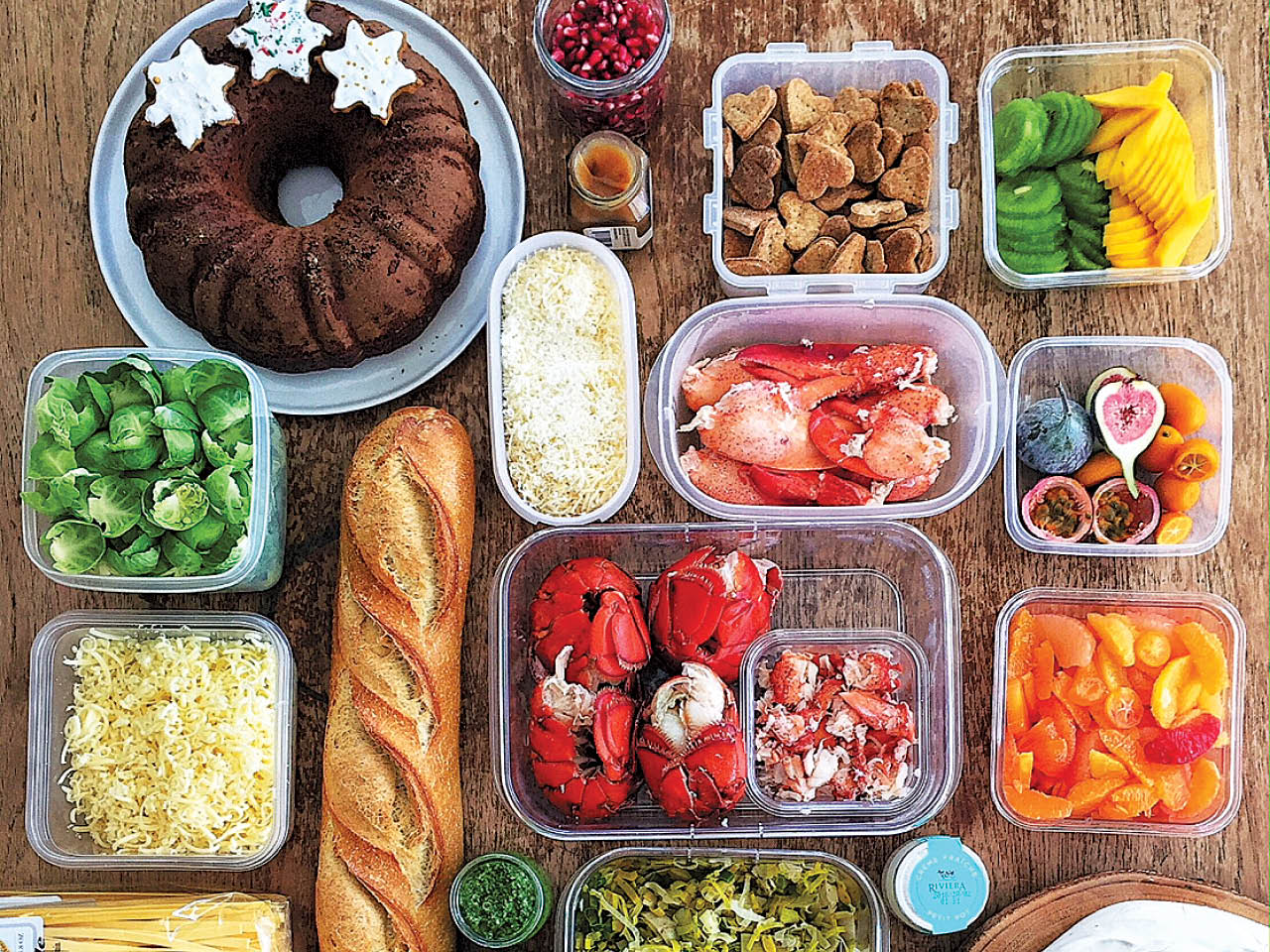Best foodies on instagram- one of Aimée Wimbush-Bourque's overhead shots of a beautiful spread