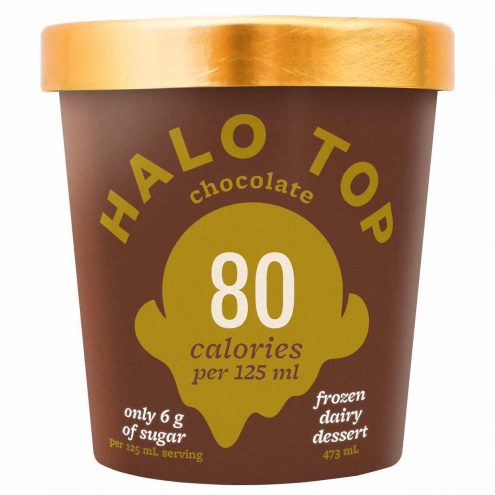 Halo Top Ice Cream Canada - Chocolate Flavour