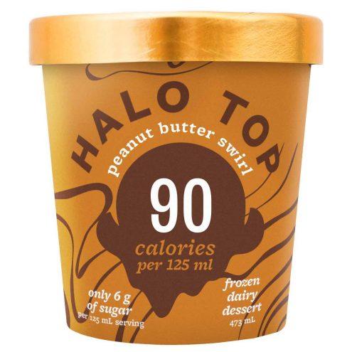 Halo Top Ice Cream Canada - Peanut Butter Swirl Flavour