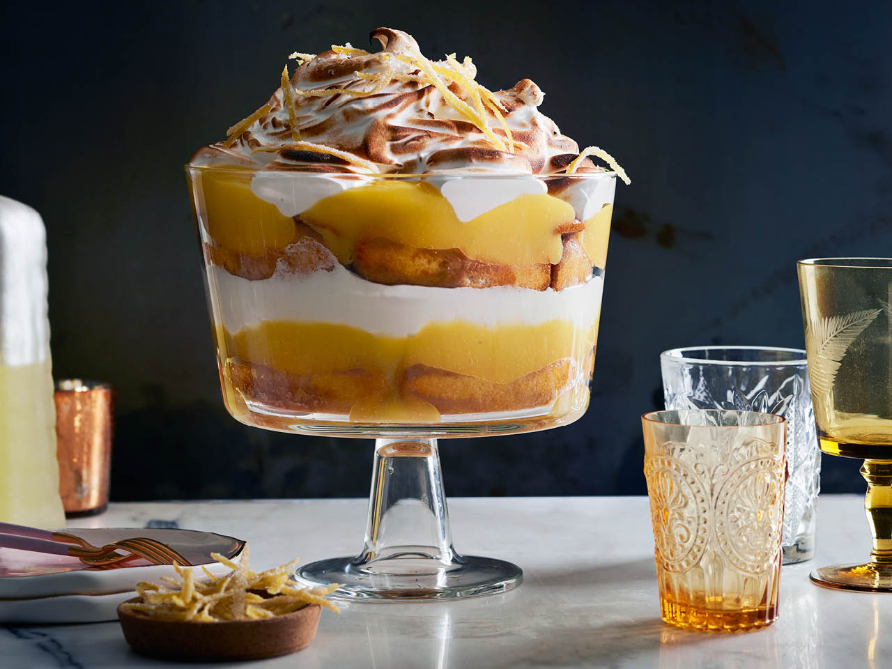 Lemon meringue trifle recipe