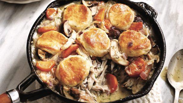 Shortcut chicken pot pie recipe