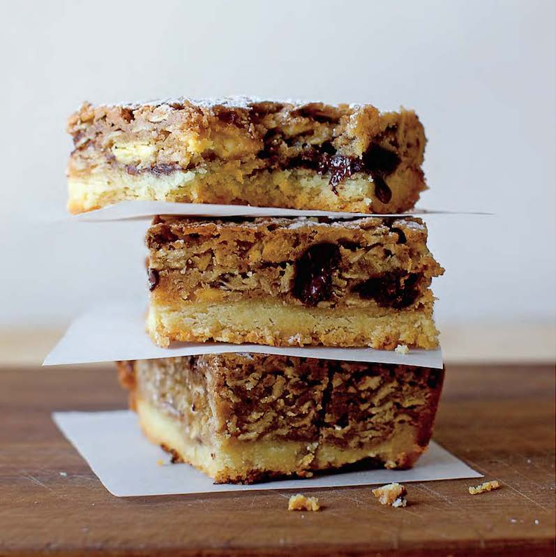 Smitten Kitchen's bake sale winning-est gooey oat bars