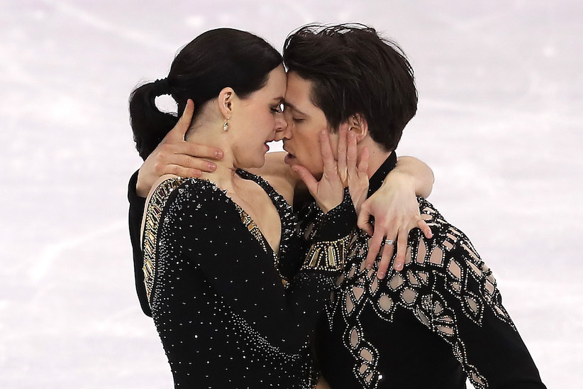 are tessa and scott a couple: canadian ice dancers Tessa Virtue and Scott Moir