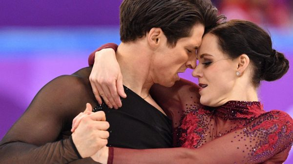 are tessa and scott a couple: photo of canadian ice dancers tessa virtue and scott moir