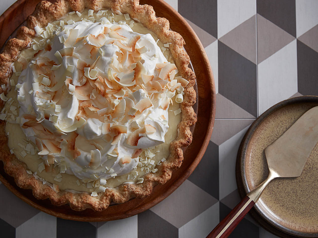 best ever coconut cream pie