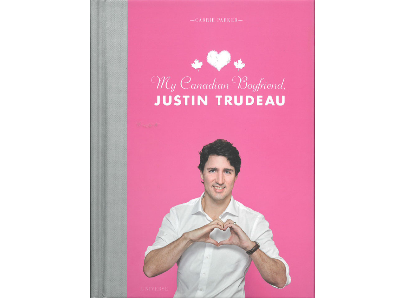 my canadian boyfriend justin trudeau book cover