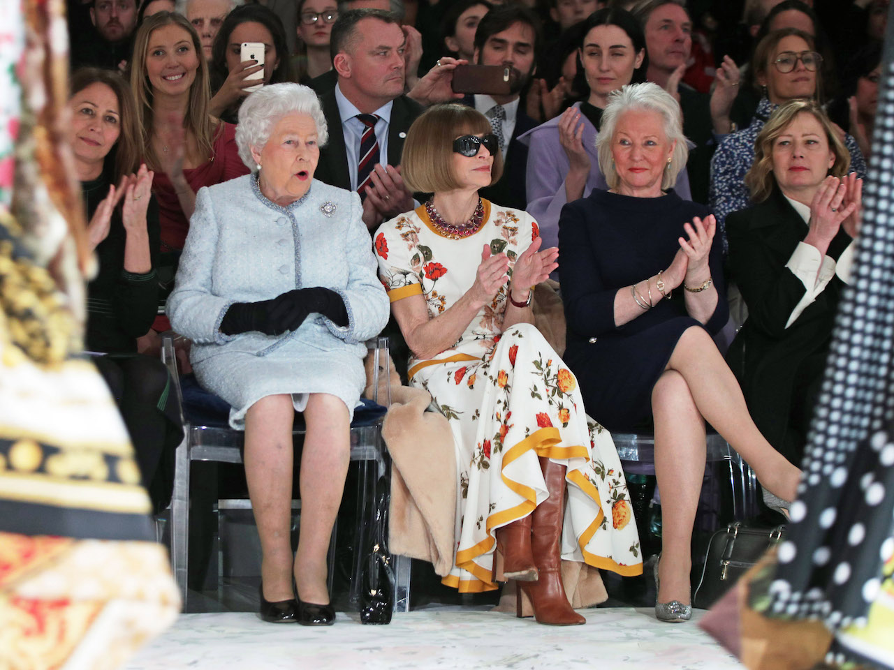 Why Queen Elizabeth Just Attended Her First-Ever Fashion Week At Age 91