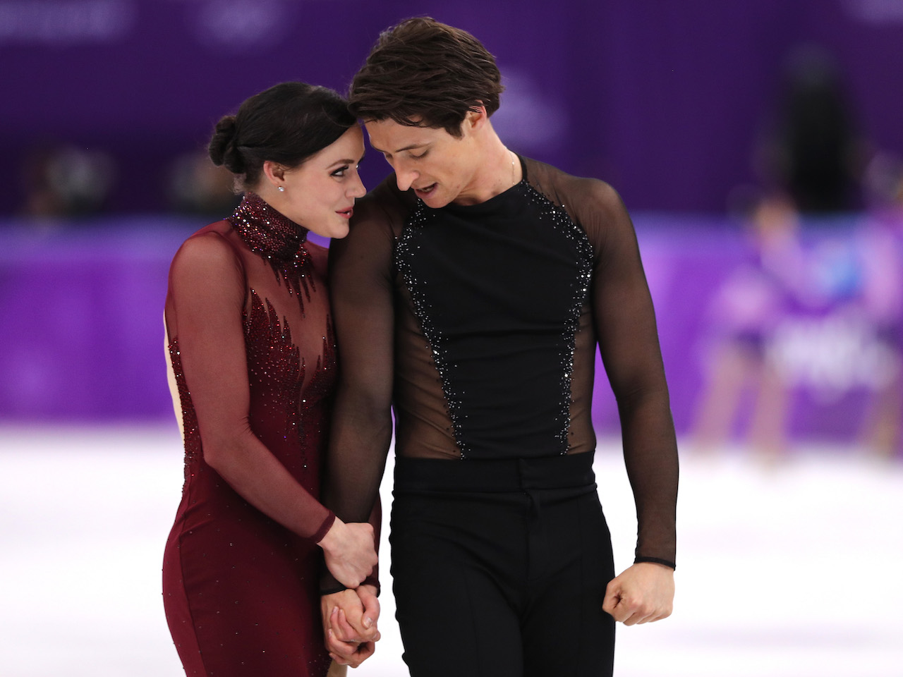 scott and tessa relationship: pair at olympics