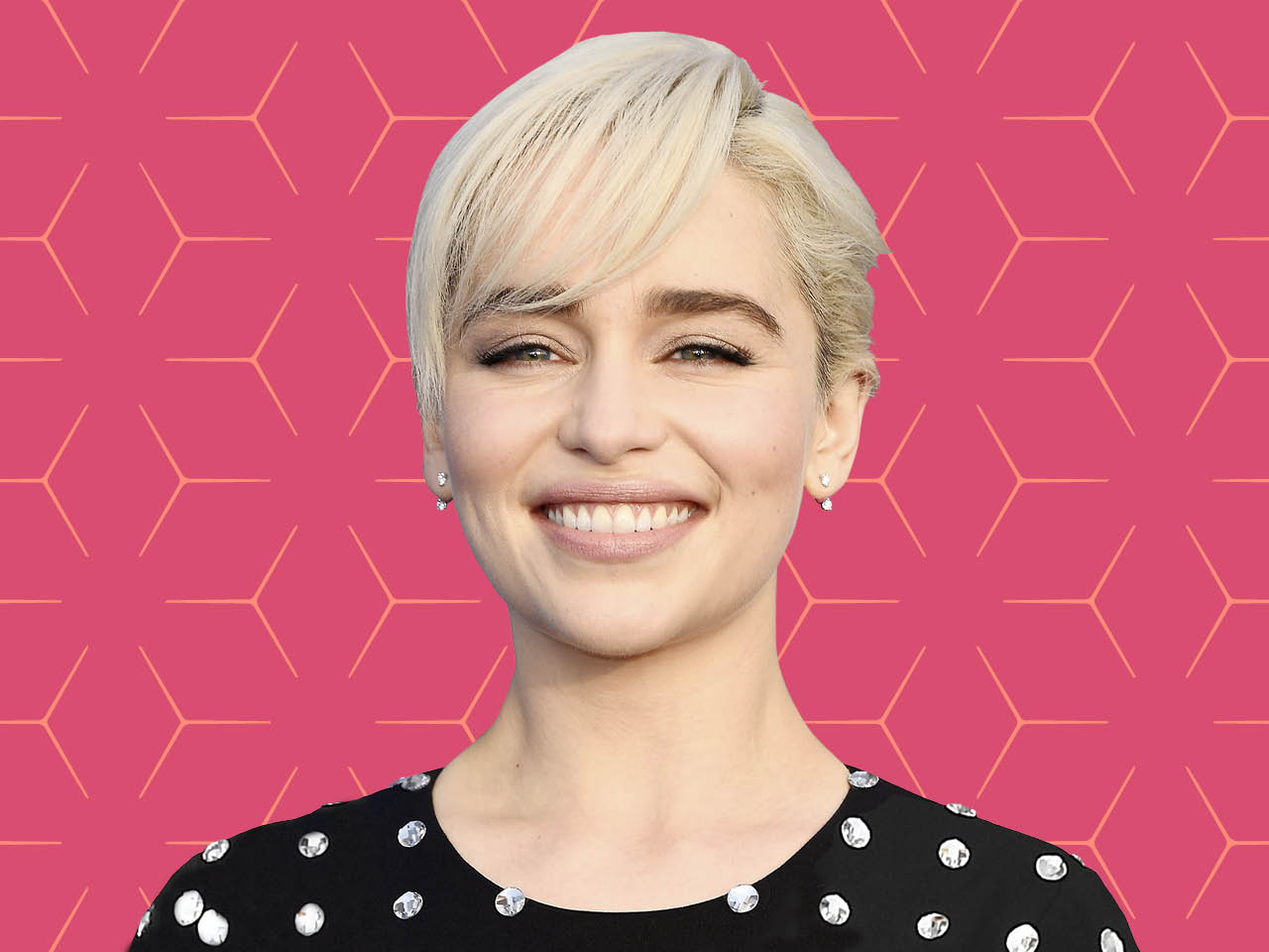 Emilia Clarke is one of the many celebrities with bangs