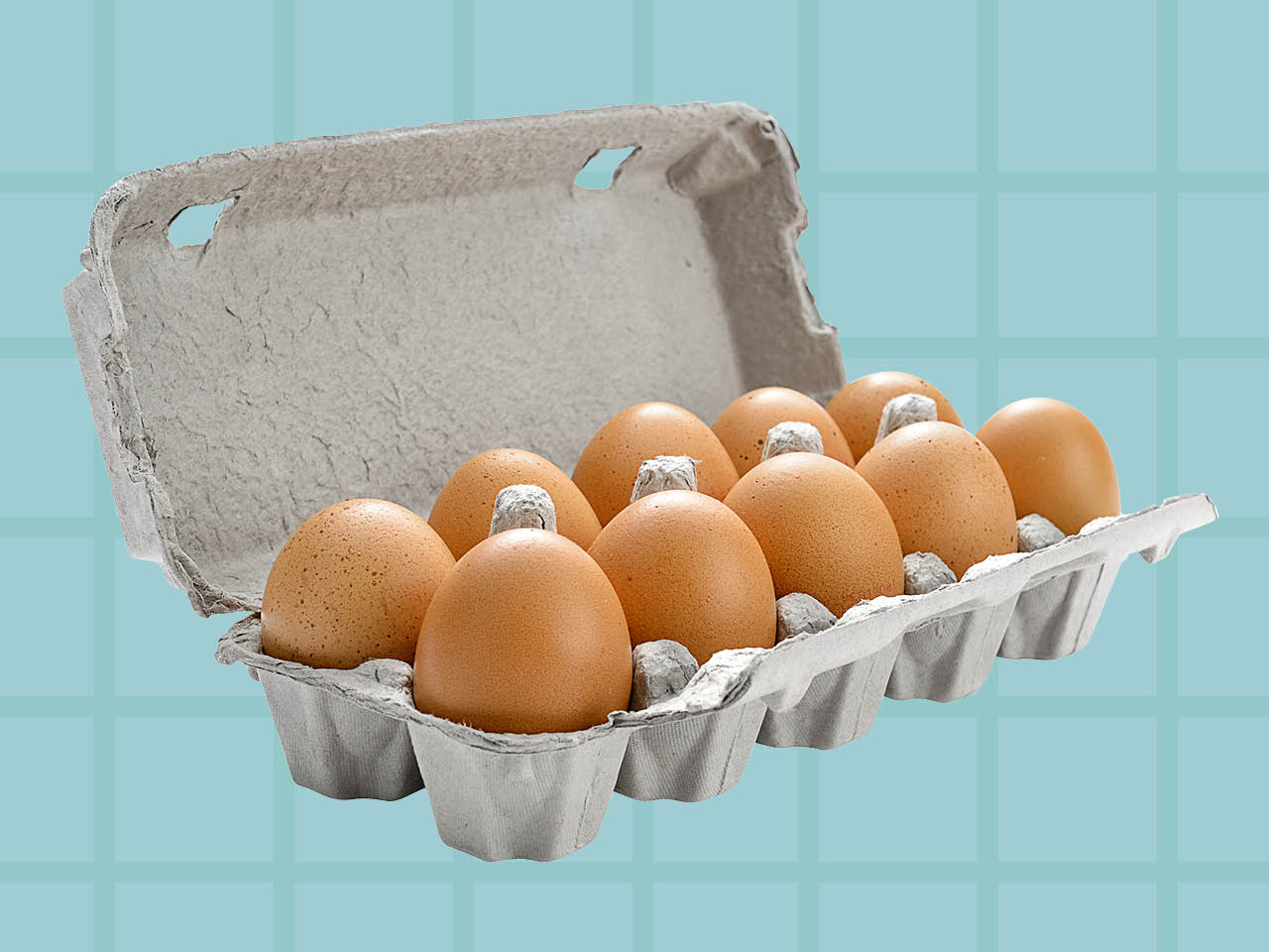 How to tell if an egg is bad - full egg carton