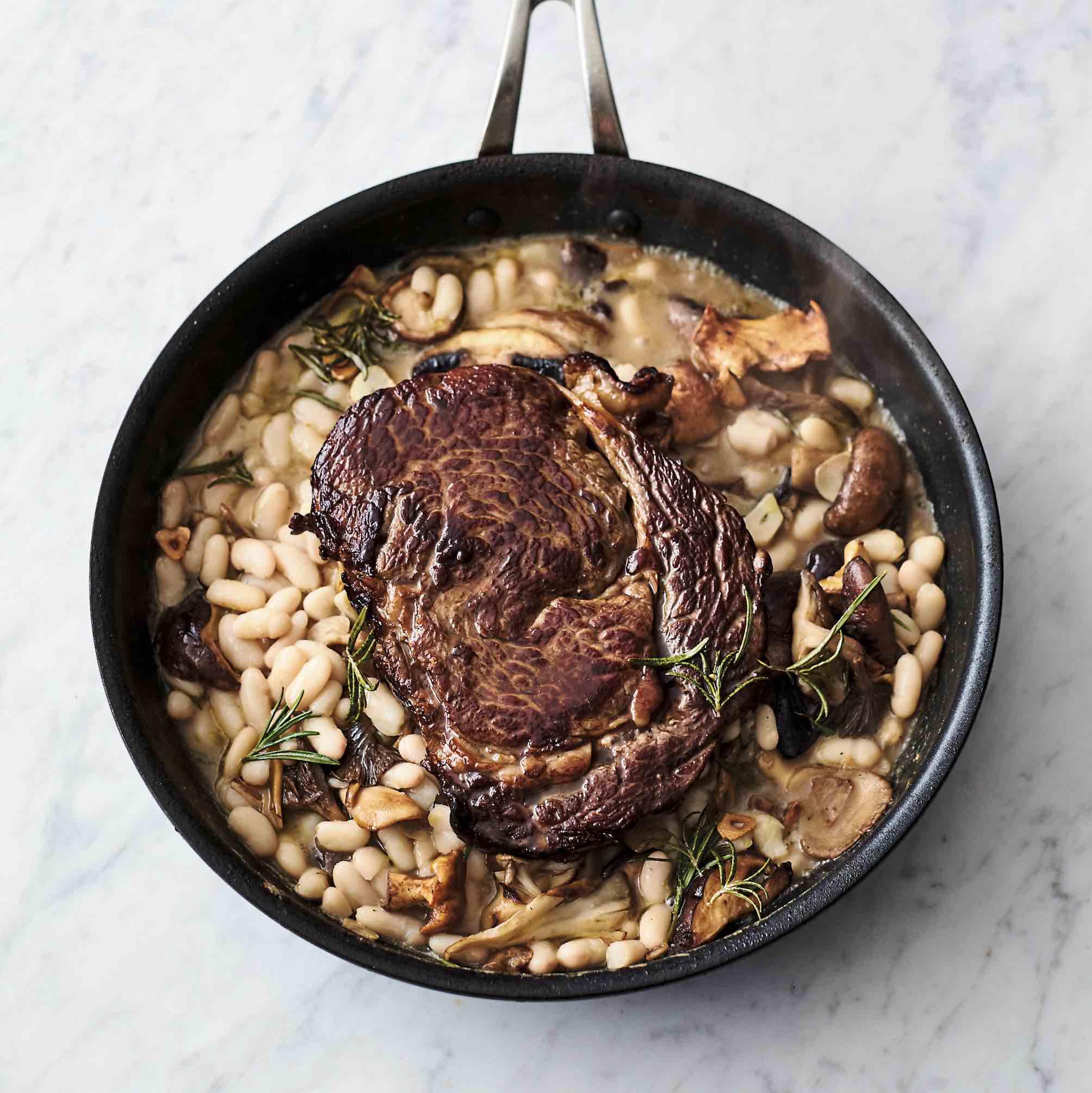 Jamie Oliver's epic rib-eye steak