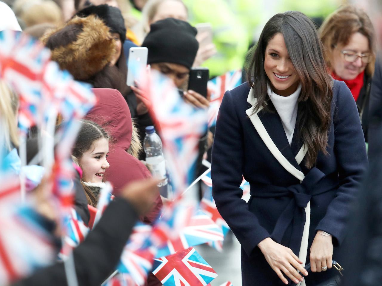 MEghna markle hair-Prince Harry And Meghan Markle Visit Birmingham