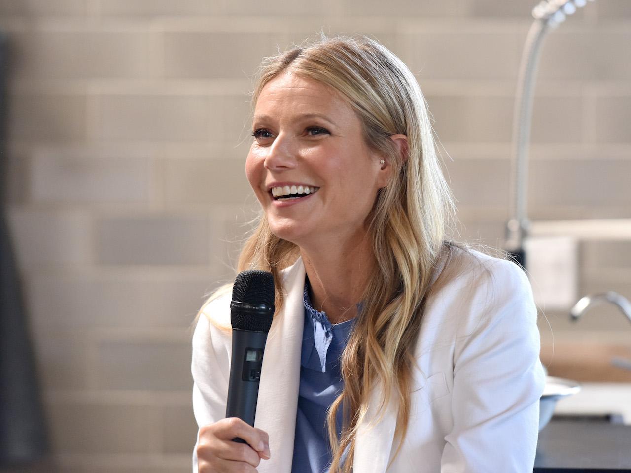 gwyneth paltrow launched the goop podcast: photo of gwyneth paltrow